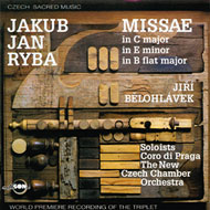 Jakub Jan Ryba / Czech Sacred Music